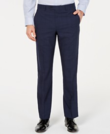 Lauren Ralph Lauren Men's UltraFlex Classic-Fit Windowpane Pants