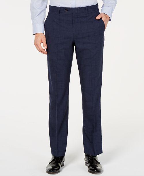 Lauren Ralph Lauren Men's UltraFlex Classic-Fit Windowpane Pants