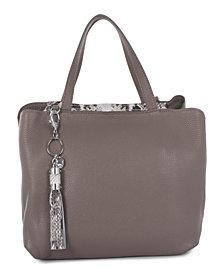 Céline Dion Collection Leather Mezzo Satchel