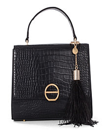 Céline Dion Collection Leather-Like Sonata Handle Bag