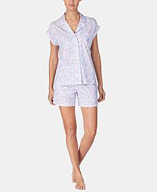 Lauren Ralph Lauren Printed Boxer Pajama Set