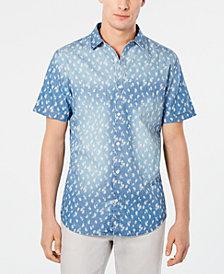 I.N.C. Men's Chambray Dandelion Shirt, Created for Macy's