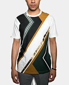 Sean John Men's Abstract Colorblocked Graphic T-Shirt