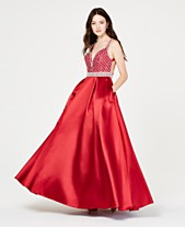 Say Yes to the Prom Juniors  Jewel-Top Ballgown 0a5a6e436