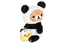 Rilakkuma Panda With Kiiroitori