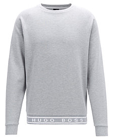 BOSS Men's Logo Cotton Sweatshirt