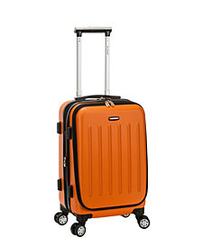 """Rockland Titan 19"""" ABS Spinner Laptop Carry On"""