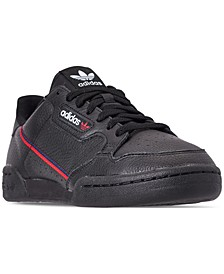 Men's Originals Continental 80 Casual Sneakers from Finish Line