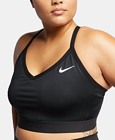 Nike Plus Size Indy Dri-FIT Low-Impact Sports Bra
