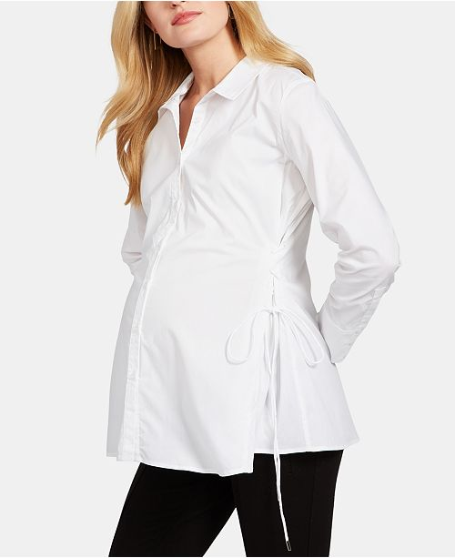 A Pea in the Pod Maternity Wrap Blouse