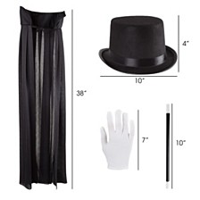Kids Magician Costume Set By Hey Play