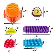 Bristle Shape Building Blocks By Hey Play