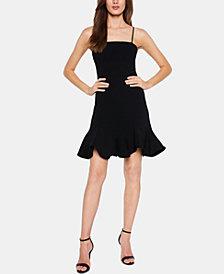 Bardot Laurie Ruffle-Hem Mini Dress