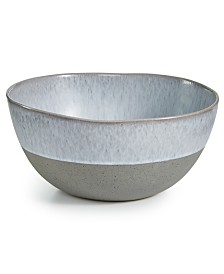 Hotel Collection Olaria Moonstone Serving Bowl, Created for Macy's