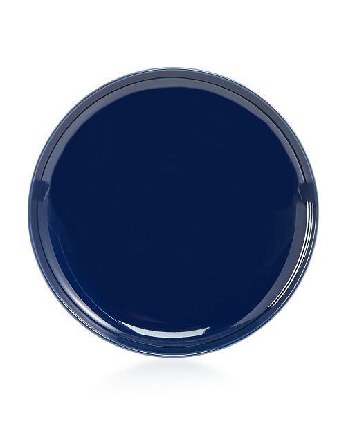 Hotel Collection Modern Dinnerware Porcelain Navy Salad Plate, Created for Macy's