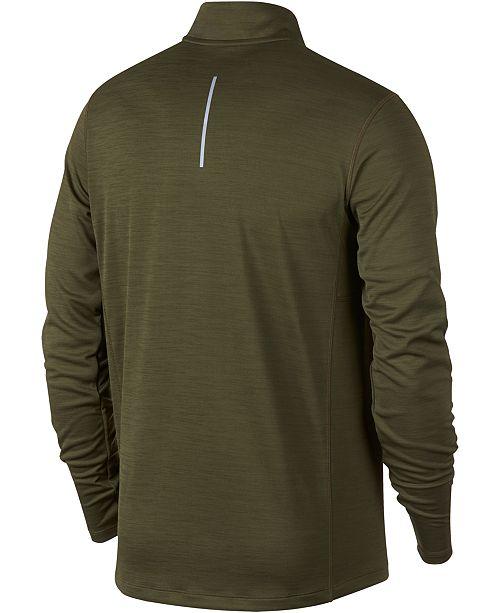 8241c937 Nike Men's Pacer Dri-FIT Half-Zip Running Top & Reviews - Sweaters ...