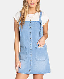 Billabong Juniors' The Ringer Cotton Denim Dress