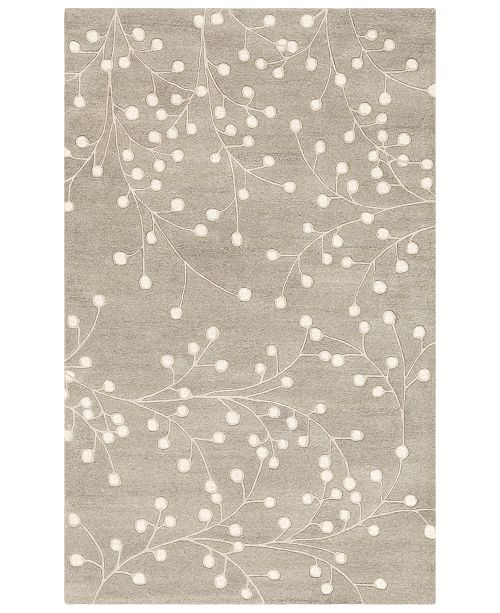 Surya Athena ATH-5157 Medium Gray 8' x 11' Area Rug