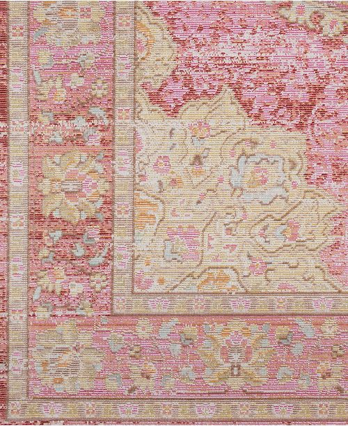 "Surya Antioch AIC-2325 Bright Pink 18"" Square Swatch"