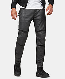 G-Star RAW Men's Motac 3D Moto Slim-Fit Pants, Created for Macy's