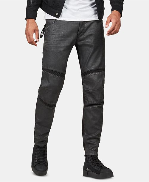 72618012e47 ... G-Star Raw Men's Motac 3D Moto Slim-Fit Pants, Created for Macy's ...