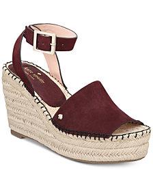 kate spade new york Felipa Wedge Sandals