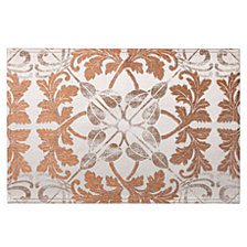 "Waterford Octavia Placemat Copper/Bronze 13"" X 19"""
