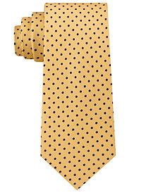 Tommy Hilfiger Men's Pin Dot Silk Tie