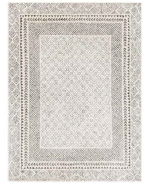"Surya Bahar BHR-2321 Medium Gray 3'11"" x 5'7"" Area Rug"