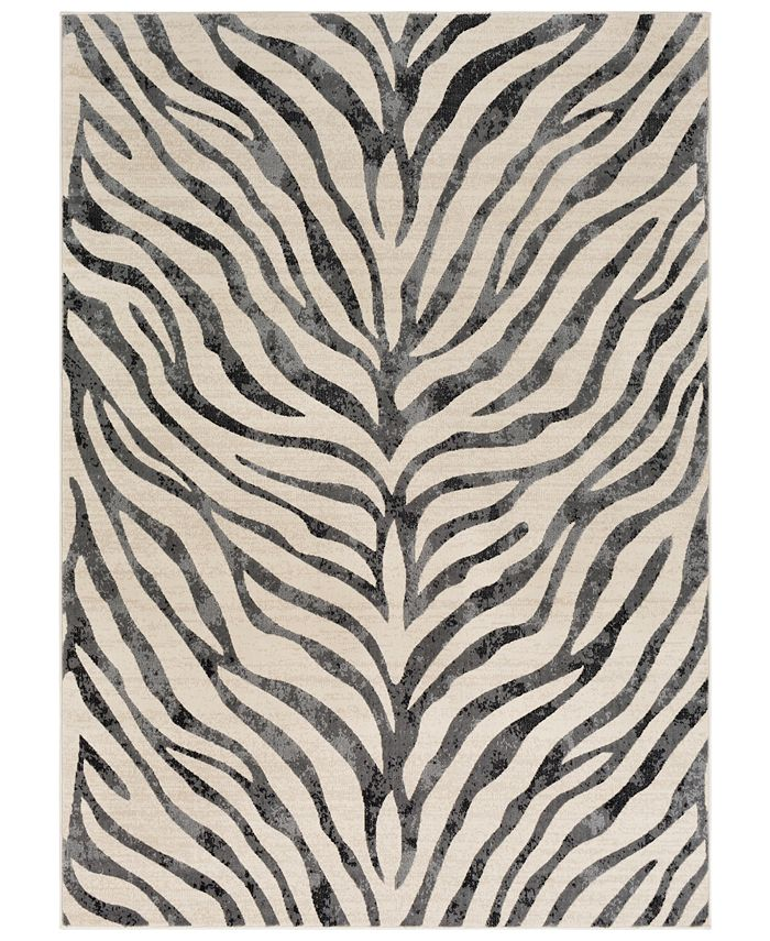 """Abbie & Allie Rugs - City CIT-2300 Taupe 3'11"""" x 5'7"""" Area Rug"""