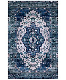 Justina Blakeney Cielo CIE-01 Ivory/Turquoise 8' x 10' Area Rug