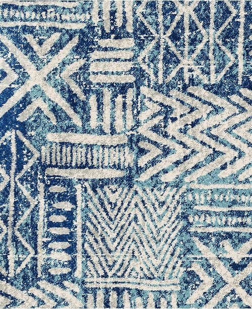 "Surya Harput HAP-1092 Bright Blue 18"" Square Swatch"
