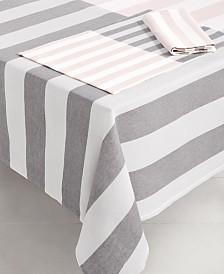 "kate spade new york Springtime Yarn-Dyed 60"" x 102"" Tablecloth"