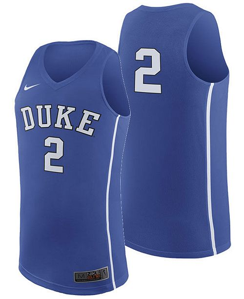 best service 24f9d f9c5b Men's Duke Blue Devils Replica Basketball Jersey 2018