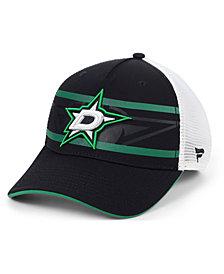 Authentic NHL Headwear Dallas Stars 2nd Season Trucker Adjustable Snapback Cap