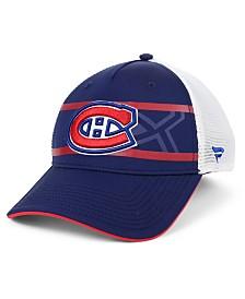 Authentic NHL Headwear Montreal Canadiens 2nd Season Trucker Adjustable Snapback Cap