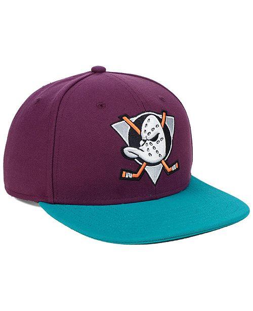 6a3f42a6 ... Authentic NHL Headwear Anaheim Ducks Mighty Ducks Collection Snapback  Cap ...
