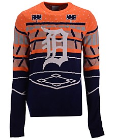 Forever Collectibles Men's Detroit Tigers Bluetooth Ugly Sweater