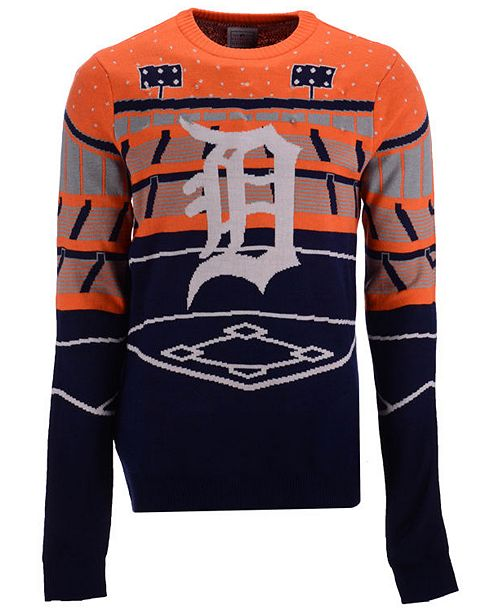 c556938adca Forever Collectibles Men s Detroit Tigers Bluetooth Ugly Sweater ...