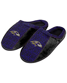 Forever Collectibles Baltimore Ravens Knit Cup Sole Slippers