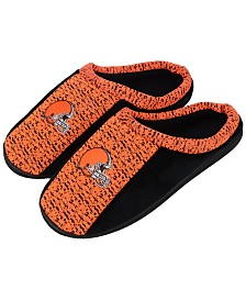 Forever Collectibles Cleveland Browns Knit Cup Sole Slippers