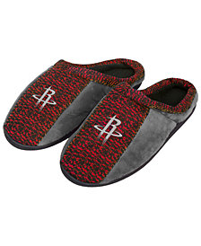 Forever Collectibles Houston Rockets Knit Cup Sole Slippers