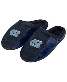 Forever Collectibles North Carolina Tar Heels Knit Cup Sole Slippers