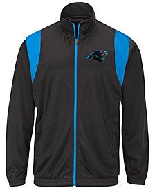 G-III Sports Men's Carolina Panthers Clutch Time Track Jacket
