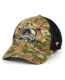 Authentic NHL Headwear Colorado Avalanche Military Appreciation Speed Flex Stretch Fitted Cap