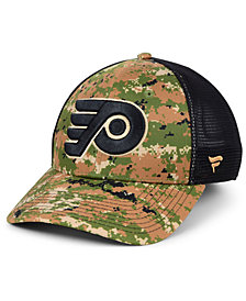 Authentic NHL Headwear Philadelphia Flyers Military Appreciation Speed Flex Stretch Fitted Cap