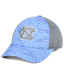 Top of the World North Carolina Tar Heels Tiger Camo Flex Stretch Fitted Cap