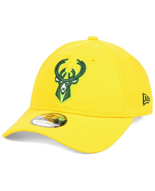 New Era Milwaukee Bucks City Series 9TWENTY Strapback Cap - Sports ... f34af17d1d48