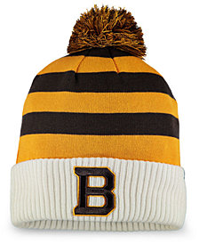 Authentic NHL Headwear Boston Bruins Winter Classic Cuffed Pom Knit Hat