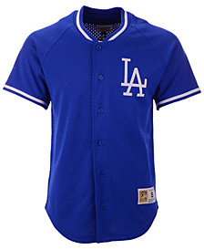 Mitchell & Ness Men's Los Angeles Dodgers Pro Mesh Jersey